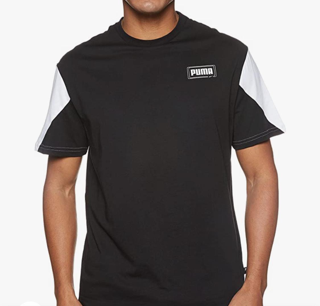 Camiseta algodón Puma hombres talla L.