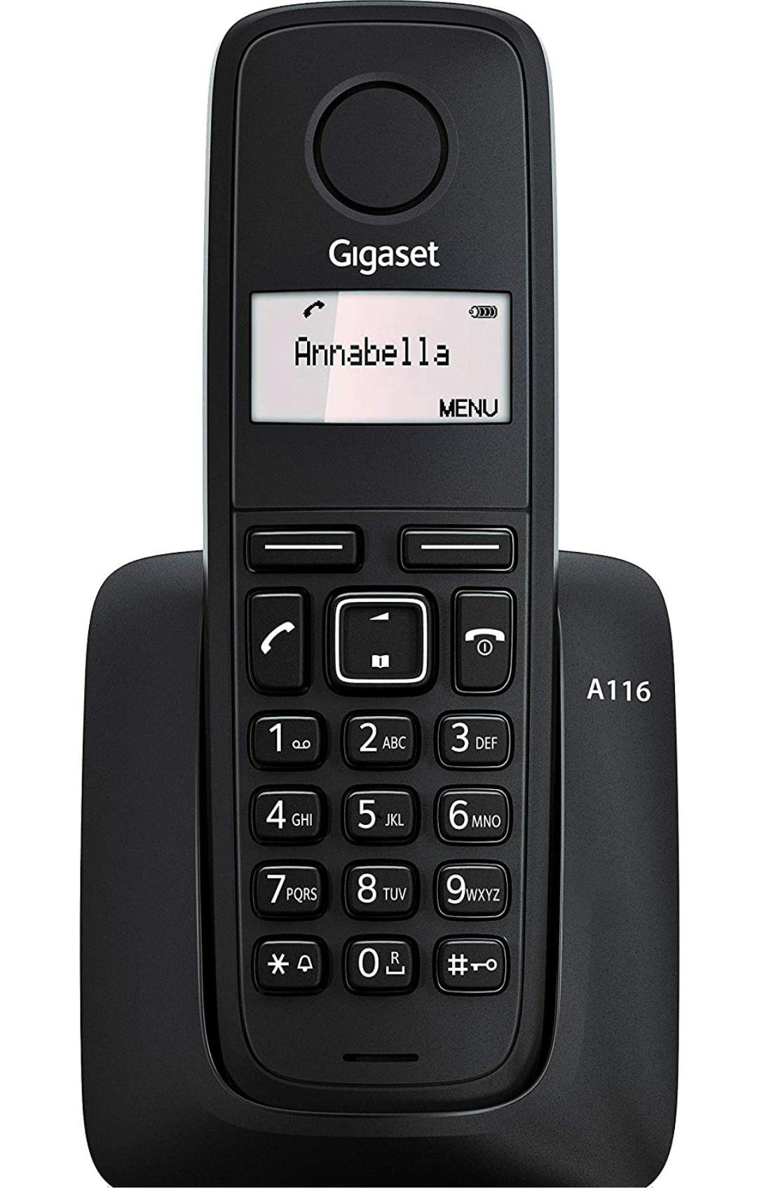 Teléfono fijo inalámbrico Gigaset A116 made in Germany