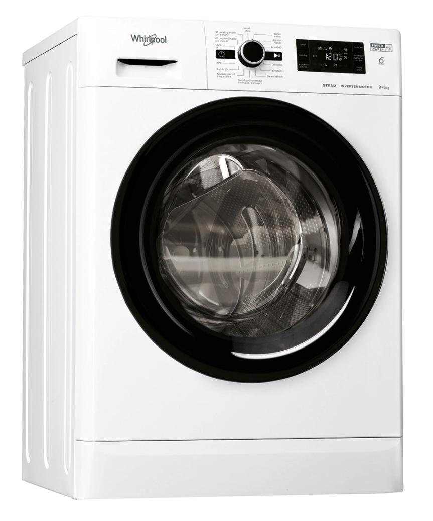 Lavadora secadora - Whirlpool 9kg/6kg 1400rpm