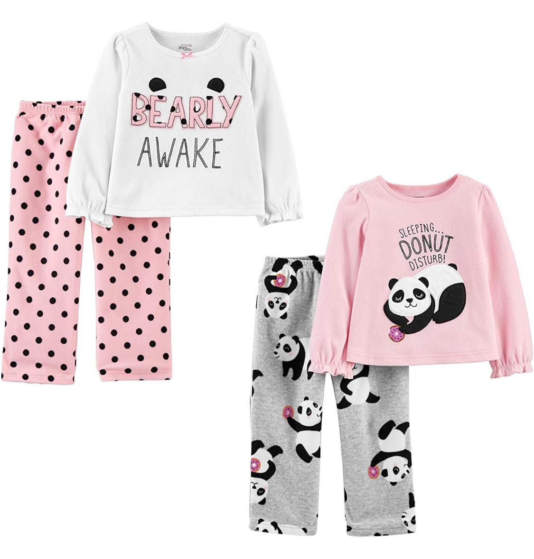 Dos pijamas combinados niña talla 12 meses.