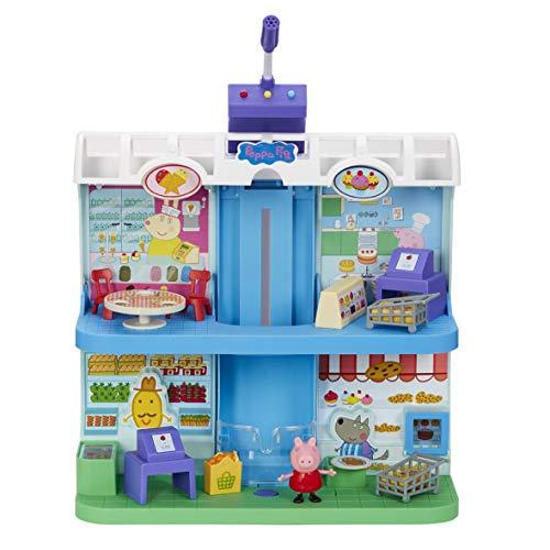 Peppa Pig - Playset Centro Comercial con figura
