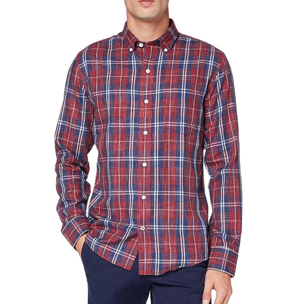 Camisa a cuadros Izod hombre talla M (L a 7,16€)