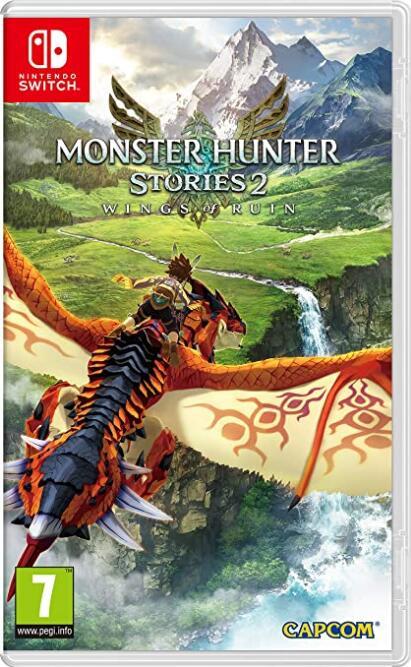 Switch Monster Hunter Stories 2 [Nintendo Switch] (Físico) por 46,80 € (envío incluido)
