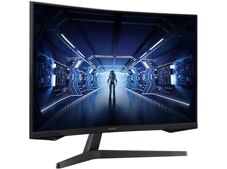 "Monitor gaming - Samsung LC32G55TQWU, 32"" QHD, Curvo, VA, 1 ms, 144Hz, HDMI"