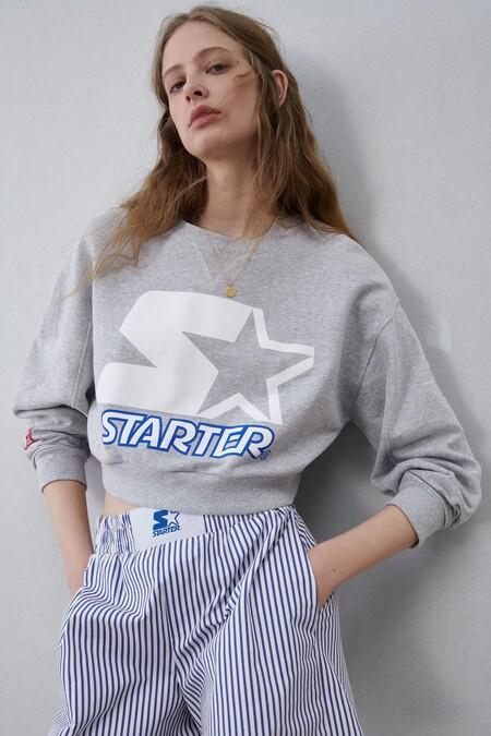 Sudadera Starter x Zara