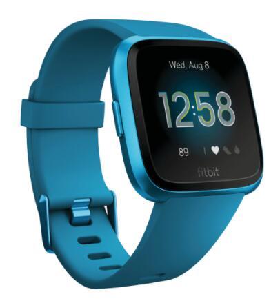 Fitbit Versa Lite Marina Blue Aluminum Smartwatch por 69,95 €