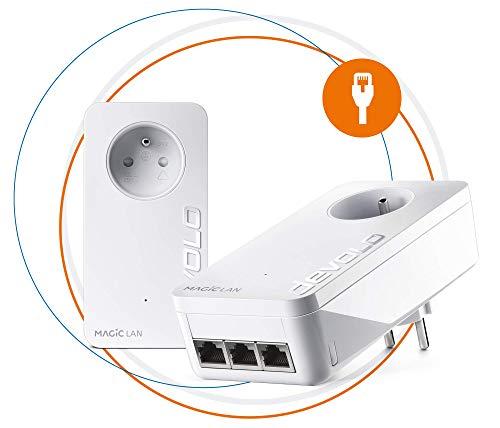 Devolo Magic 1 – Miniadaptador WiFi Blanco 2400 Mbps Magic 2 Triple - Reacondicionado - MB