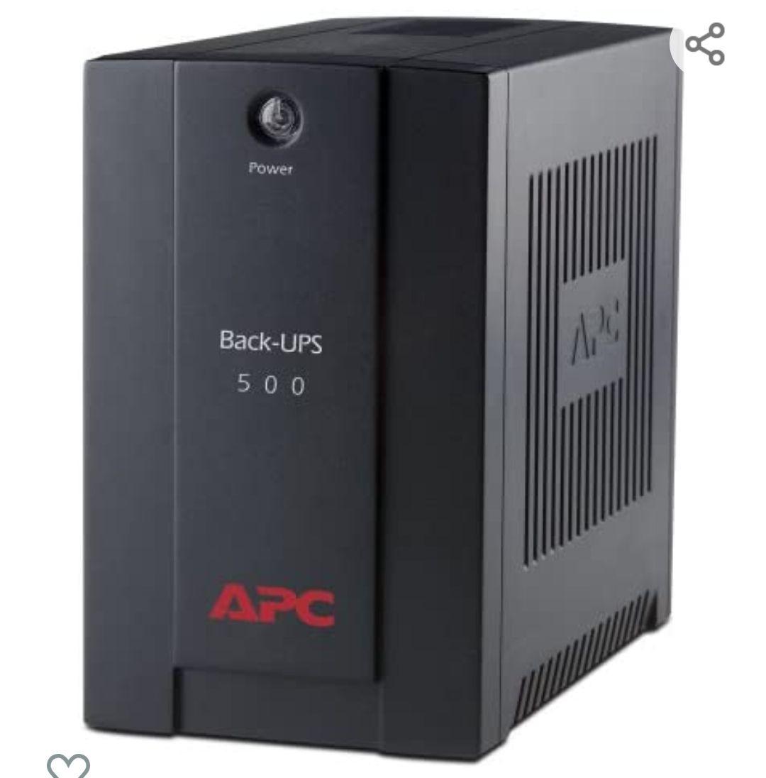 APC by Schneider Electric APC BX500CI Back-UPS BX - Sistema de alimentación ininterrumpida SAI 500VA (3 salidas tipo IEC, AVR)