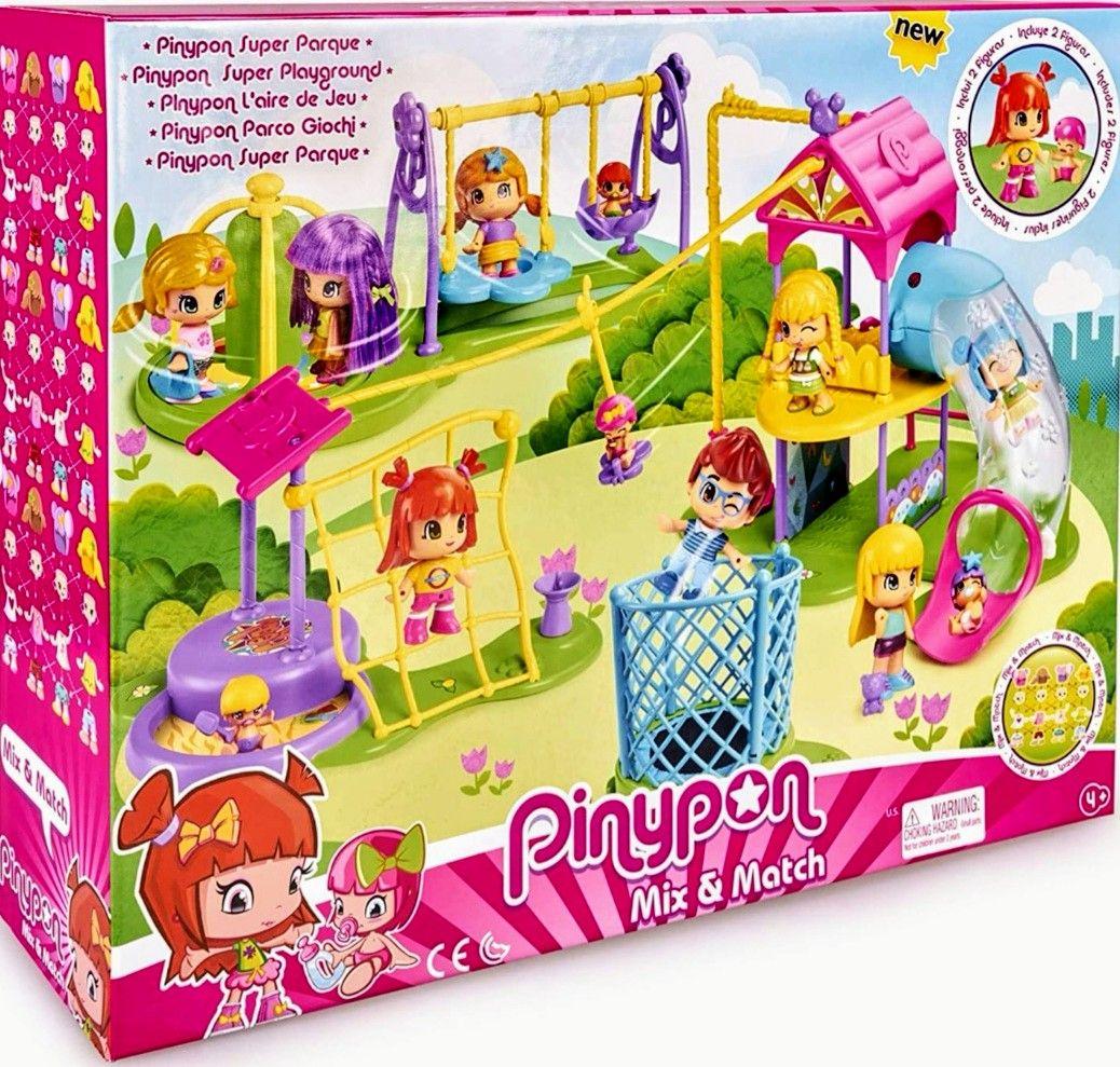 Pinypon Súper Parque + Accesorios + 2 Figuras