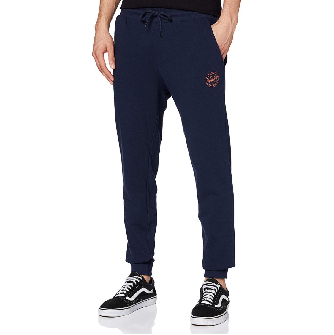 Pantalón deporte azul Jack & Jones adulto talla M.