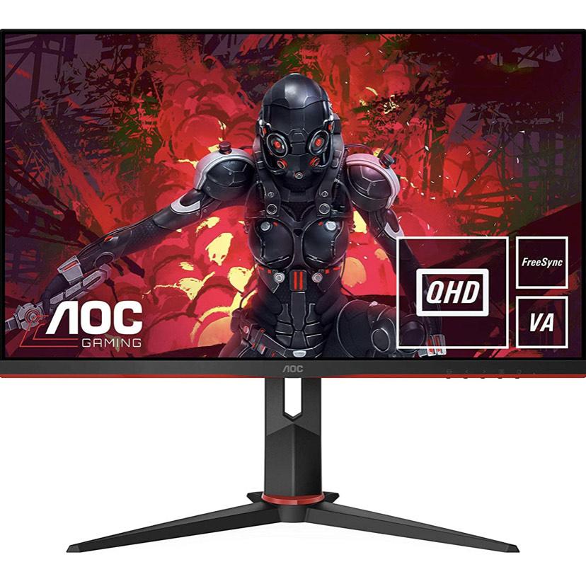 "Monitor Gaming AOC 27"" WQHD 144Hz"