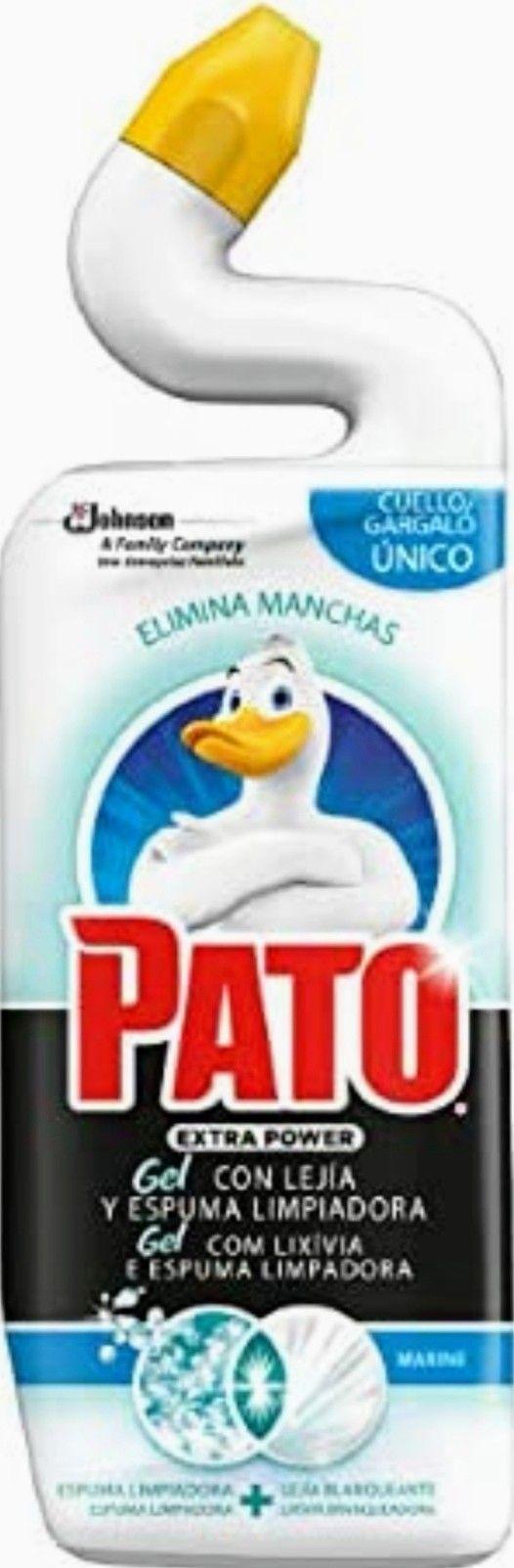 PATO - WC Power Lejía Fragancia Marine(1.32€ la Und. comprando 3)
