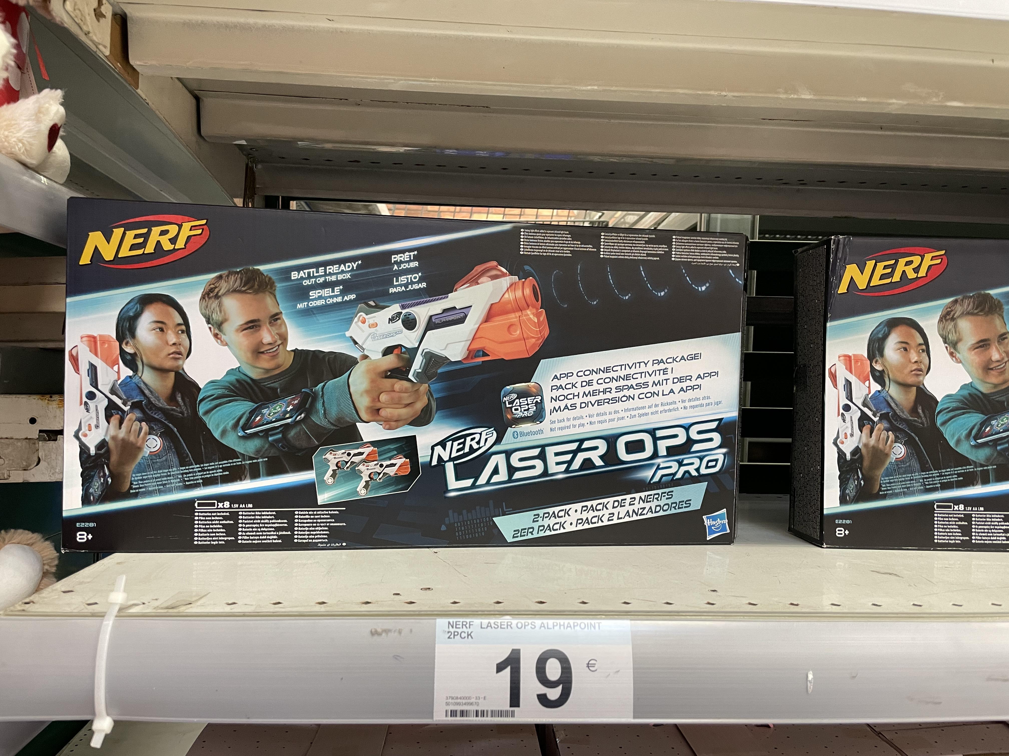 Nerf Laser Ops Pro en el Carrefour de Alfonso Molina - Coruña