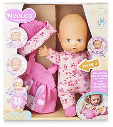 Bebé Nenuco Baby Talks ¡Nos vestimos! con sonido