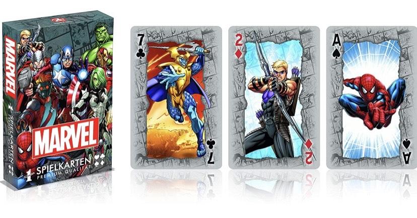 Juego de Cartas de Marvel Universe Avangers Iron Man