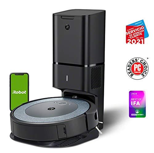 iRobot Roomba i3552 - Robot Aspirador con mapeo, Wi-Fi y Vaciado automático de la Suciedad - Compatible con asistentes de Voz y Coordinación