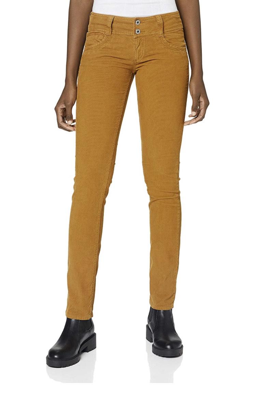 Pepe Jeans Gen Vaqueros, Naranja 142, 34W / 30L para Mujer