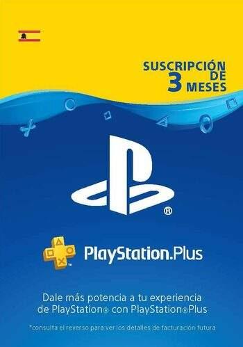 PSN Plus 3 Meses