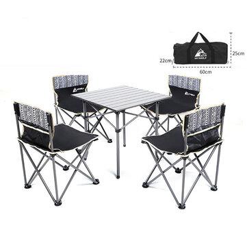 Juego de Mesa y sillas Plegables 5 en 1 [DESDE EUROPA]
