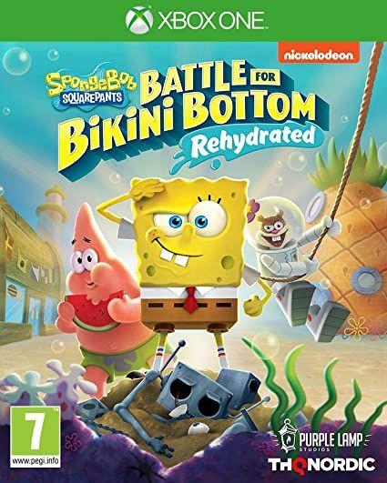 Bob Esponja Battle for Bikini Bottom Rehydrated (Xbox One)