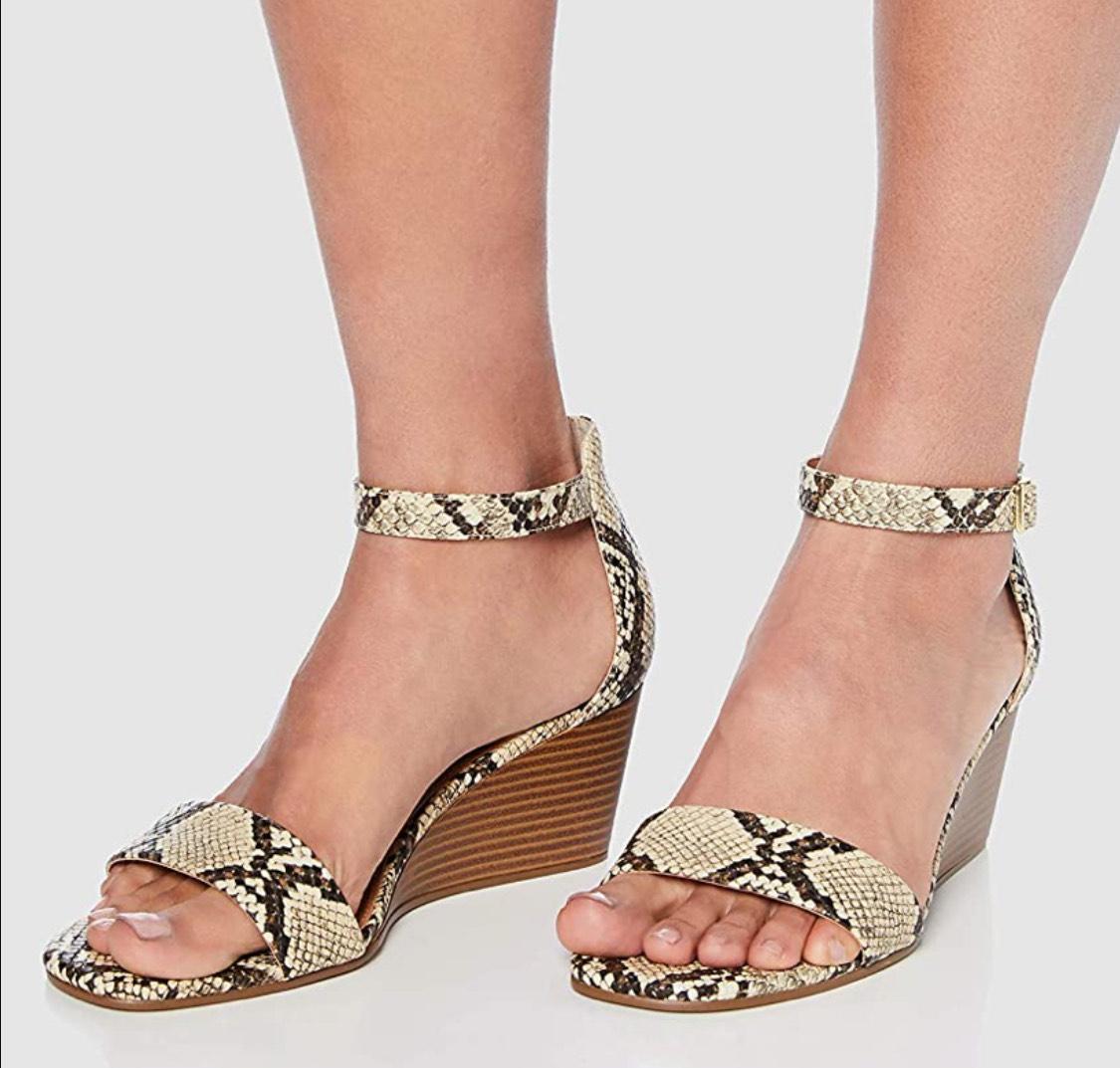 Sandalias con cuña find. mujer talla 41 (37 a 11.23€)