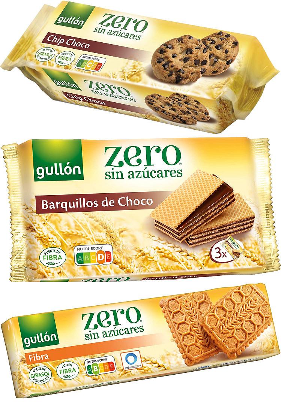 Gullón (Zero) Choco Chips, Barquillo Choco o Fibra por sólo 0,89€ cada una.