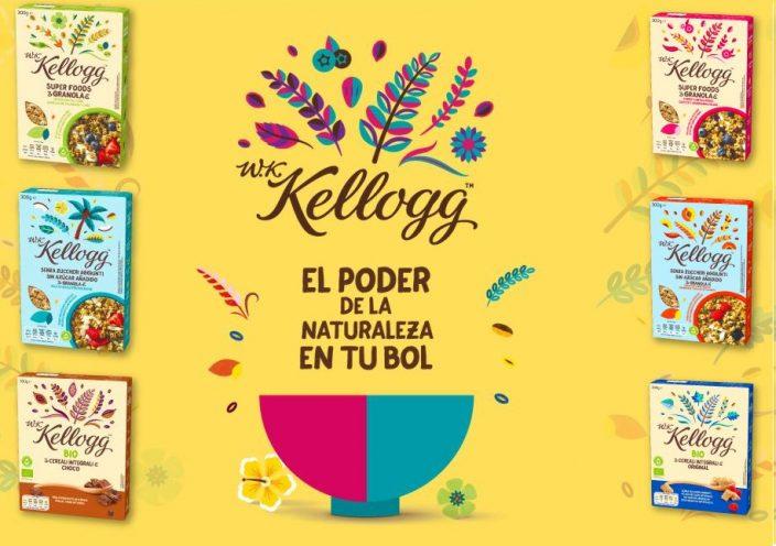 Prueba GRATIS Cereales W.K Kellogg (Reembolso)