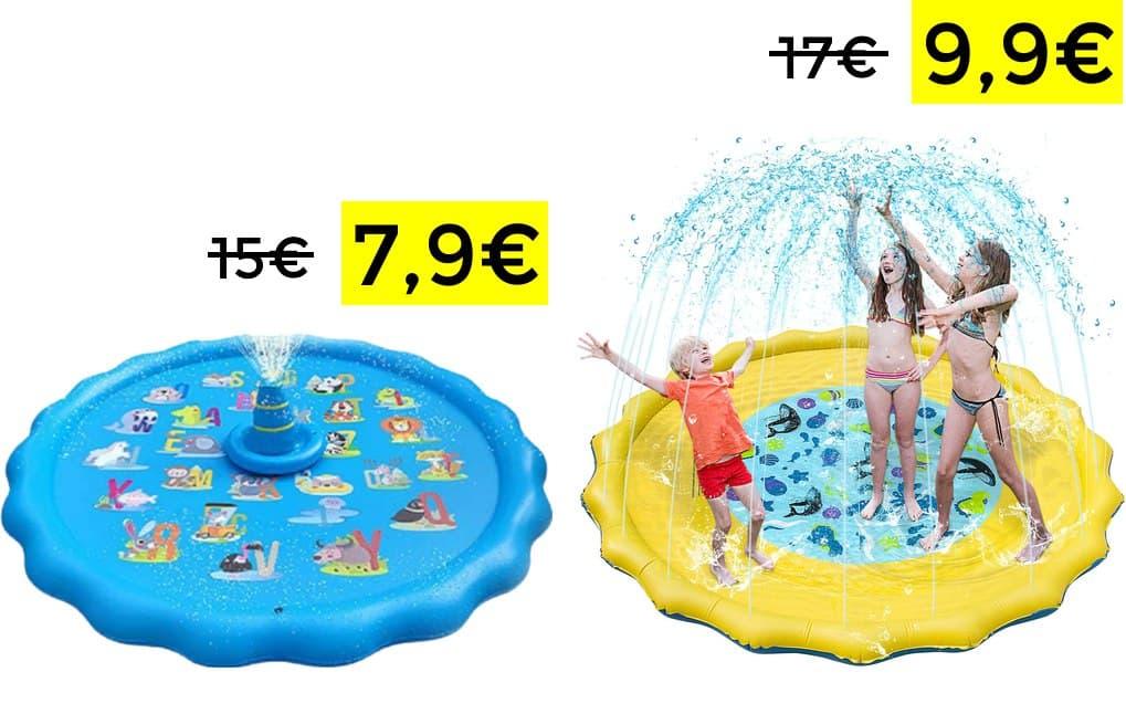 Alfombrillas acuáticas desde 7.9€