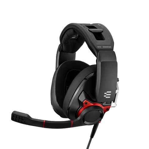 Sennheiser GSP 600 Auriculares Gaming Profesionales Multiplataforma Negro/Rojo