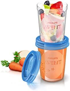 Philips Avent SCF639/05 - Set de recipientes de comida para bebé (5 recipientes)