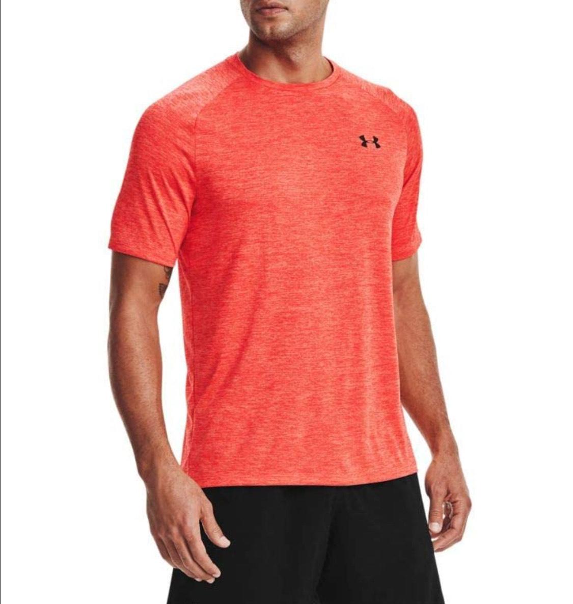 Camiseta deportiva Under Armour adulto talla M (28€ web oficial)