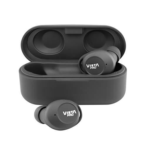 Auriculares inalámbricos - Vieta Pro True Wireless Unseen 2 VHP-TW21BK, Bluetooth 5.0, 15h, Táctil, Negro