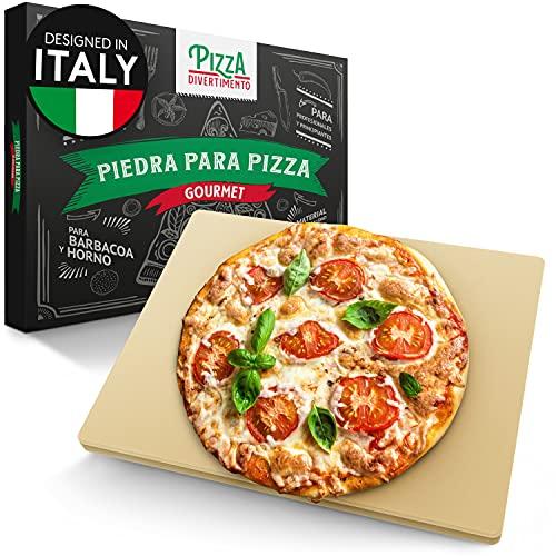 Piedra pizza y pan para horno y parrilla de gas. Por 18,99€