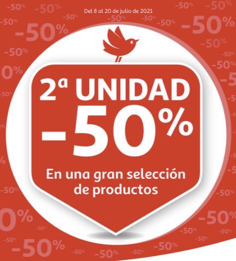 AlCampo - Segunda unidad al 50% en más de 1.500 productos