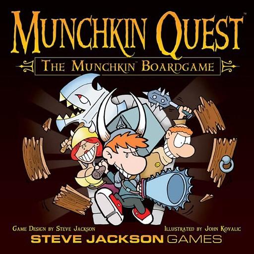 Pack MUNCHKIN QUEST - Juego de Mesa