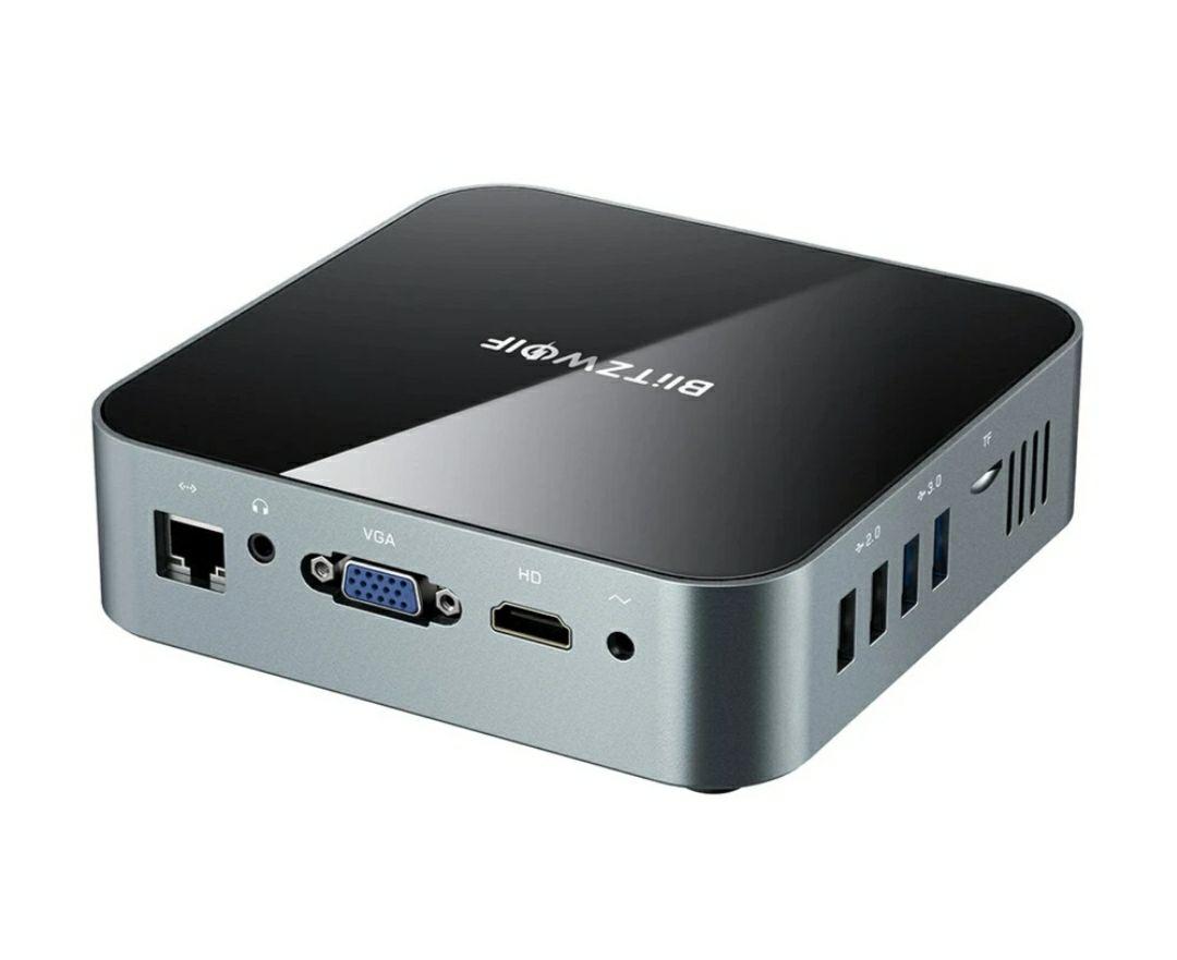 Mini PC BlitzWolf BW-MPC1 8Gb RAM 128Gb SSD Intel Celeron J4125 Quad Core 2,7Ghz