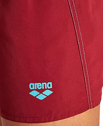 ARENA Fundamentals X-Short Bañador Hombre, talla XL, color Burned Red.