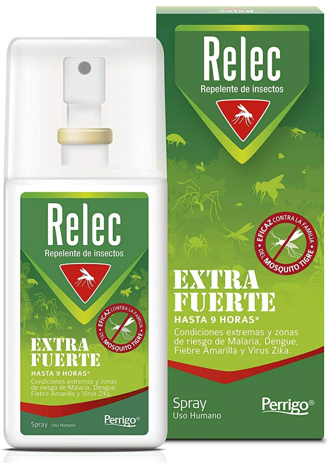 Relec Extra Fuerte Spray 75ml repelente antimosquitos