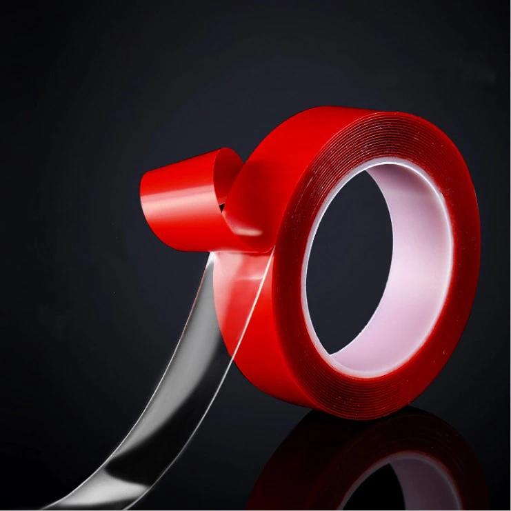Cinta adhesiva acrílica de doble cara (3 Metros)