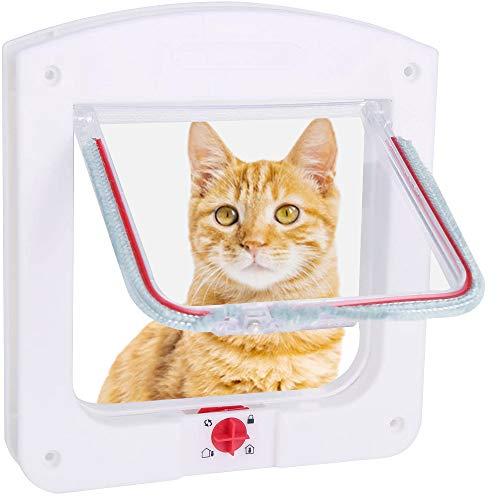 Puerta para Mascotas, para Gatos y Perros Pequeños. Por 6,99€