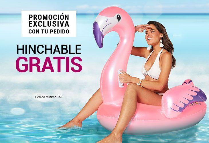 Hinchable flamenco gratis al gastar 15€ en Venca