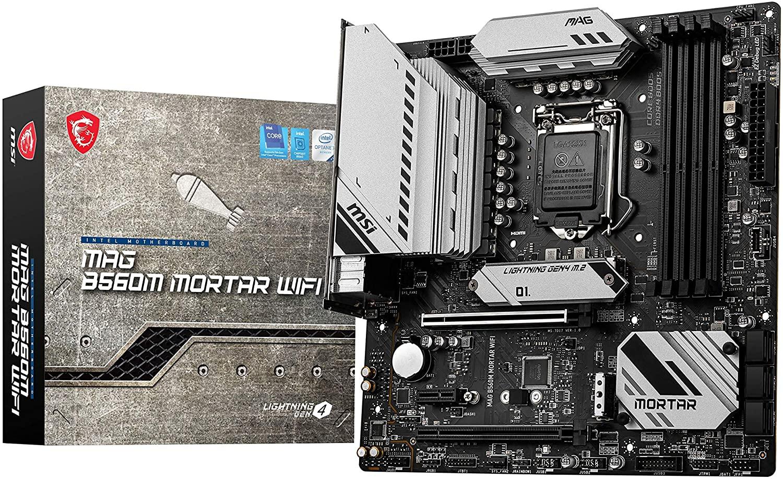 Placa Base Gaming MSI MAG B560M MORTAR WIFI