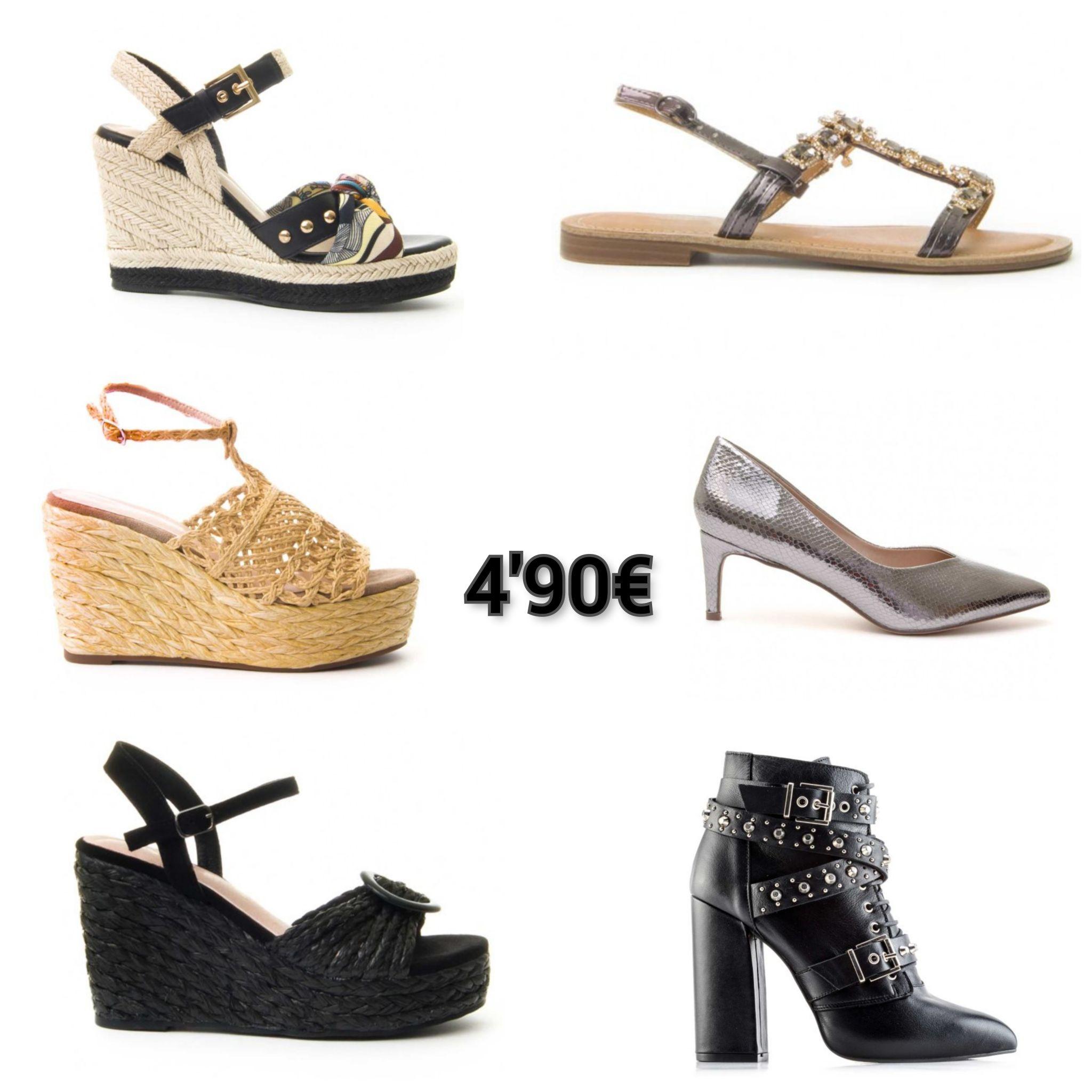 Recopilación de zapatos Montevita a 4,90€