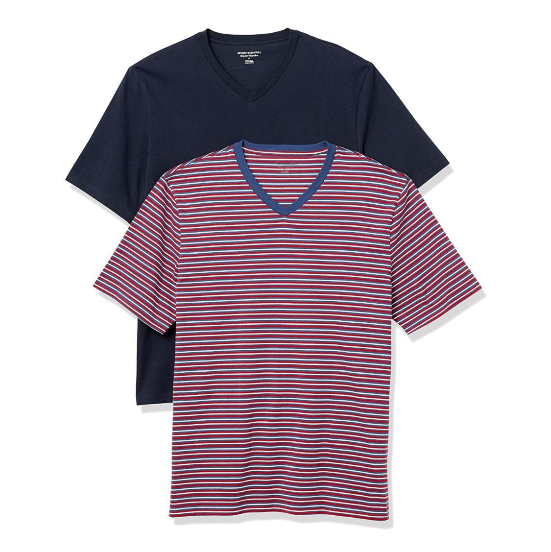 Pack dos camisetas hombre talla M (hay combinaciones económicas hasta la talla L)