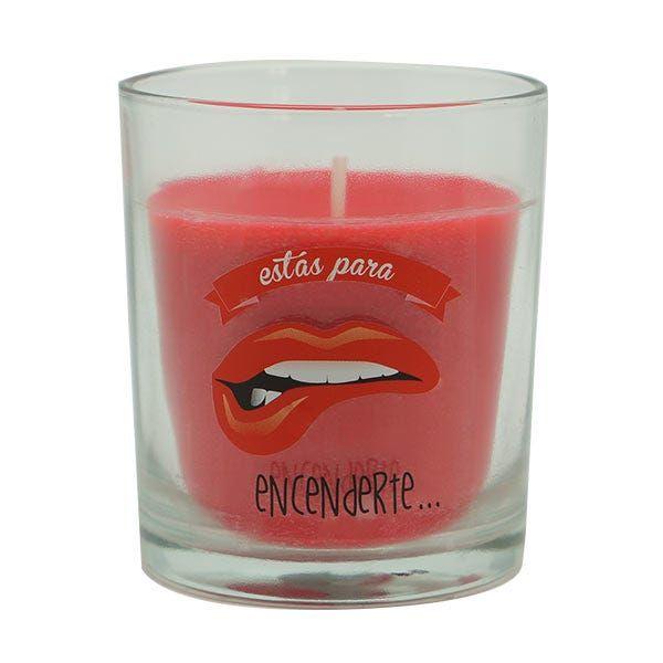 AMBIENTAIR Frutos Rojos | 1UD Vela perfumada