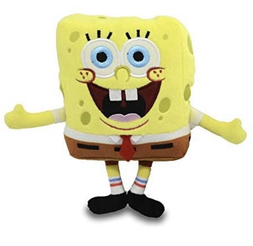 Mini Peluche de Bob Esponja Sonrisa
