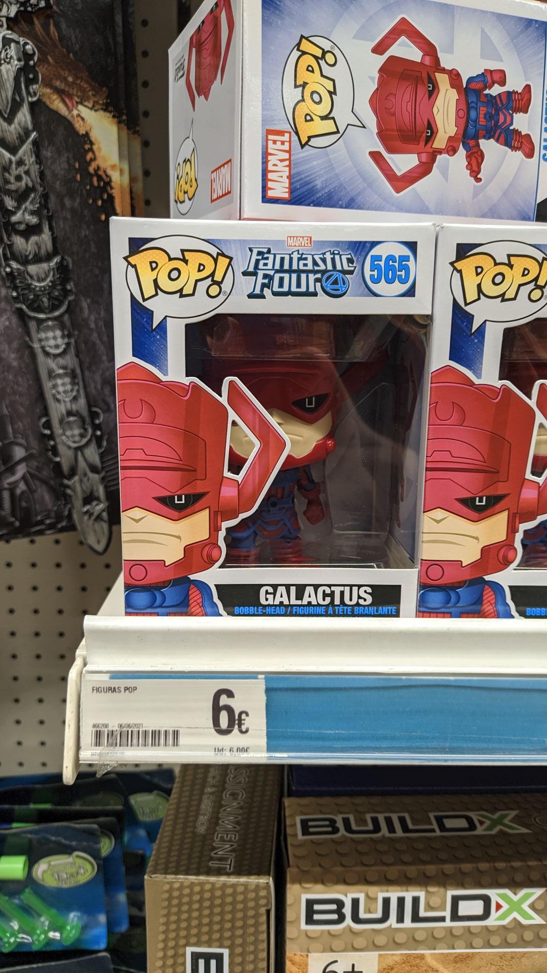 Funko Pop Galactus en tiendas Dealz