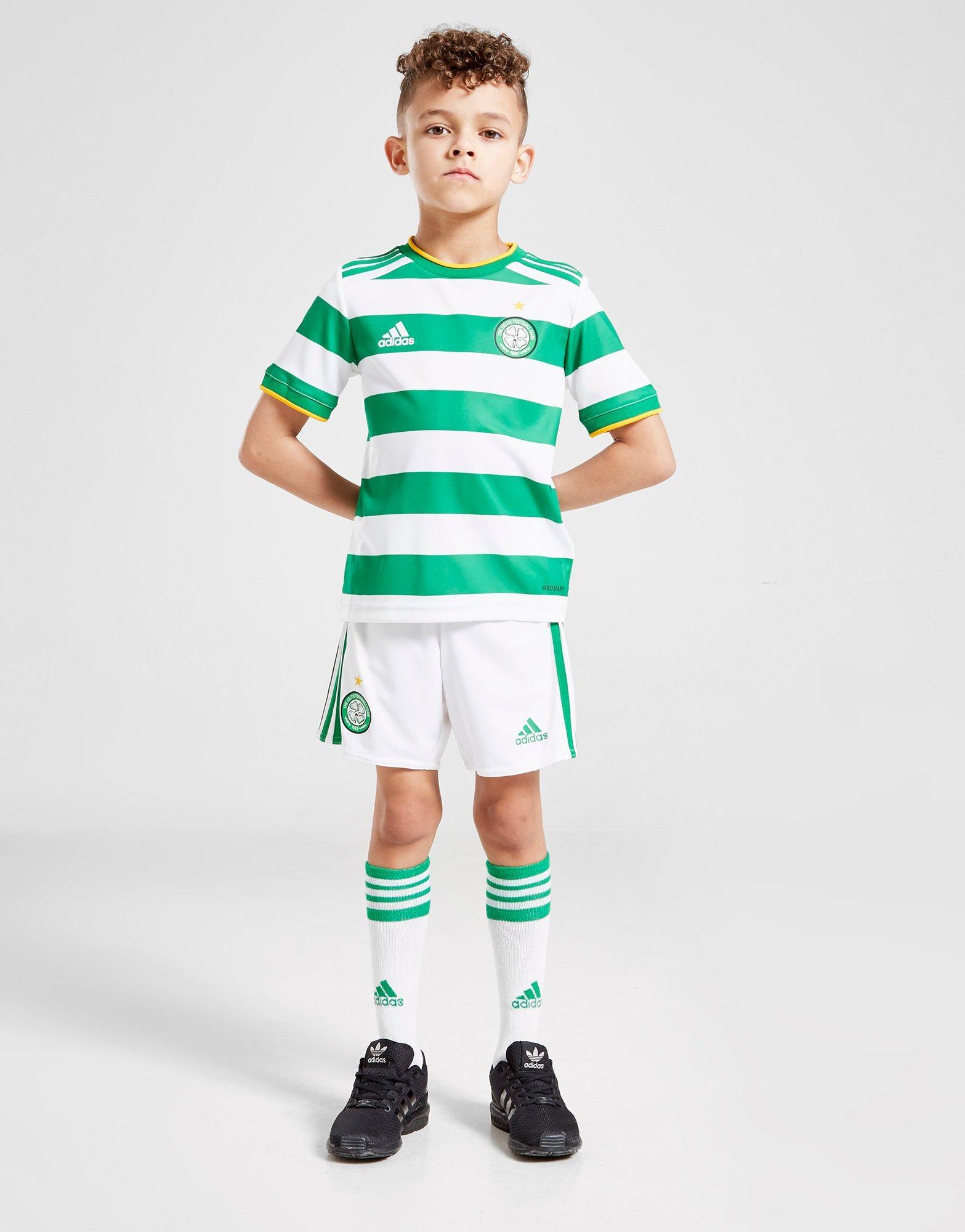 Conjunto Adidas Celtic FC 2020/21 1ª equipación infantil (RESERVA)