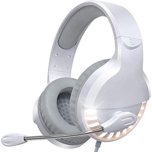 Auriculares con Micrófono PS5, Reducción de Ruido, Sonido Envolvente, con Cable. Por 12,99€
