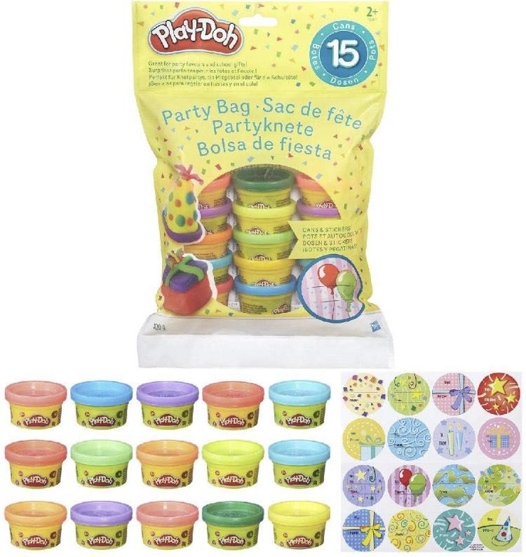 Hasbro Original, Play-Doh, Bolsa de 15 Mini Botes Plastilina envío desde España